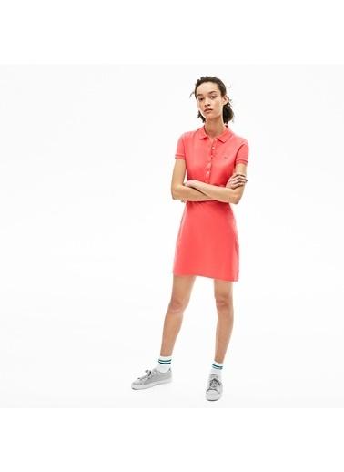 Lacoste Kadın Polo Elbise EF8470.7FY Oranj